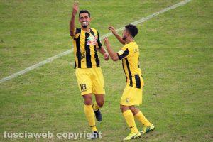 Sport - Calcio - Viterbese - Jefferson e Cenciarelli