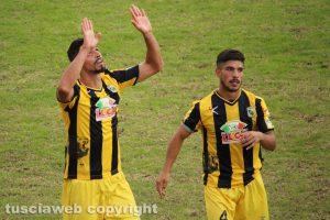Sport - Calcio – Viterbese - Jefferson e Cenciarelli dopo il 2-2