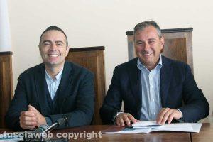 Viterbo - Domenico Merlani e Pietro Nocchi