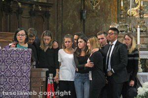 Bagnoregio - I funerali di Elena Maria Coppa - Gli amici
