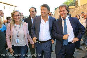 Matteo Renzi e Francesco Bigiotti
