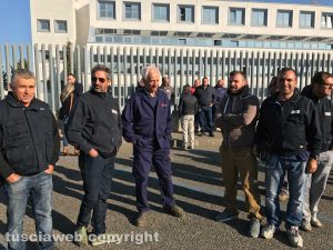 Viterbo - lavoratori della Maico di Orte in tribunale