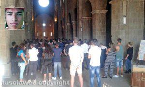 Fabrica di Roma - I funerali di Francesco Derìu