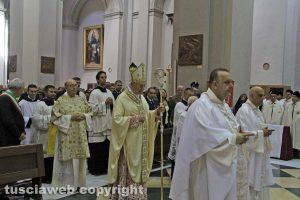 Viterbo - La messa di santa Rosa 2017