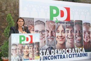 Luisa Ciambella alla Festa democratica