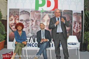 Valeria Fedeli, Pietro Nocchi e Giuseppe Fioroni