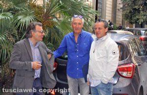 Francesco Serra, Livio Treta e Stefano Bonori