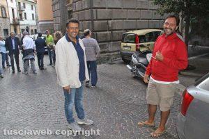 Maurizio Palozzi e Giuseppe Taluzzi Peruzzi