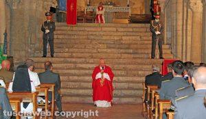 L'omelia del vescovo Lino Fumagalli