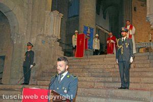 La messa in onore di san Matteo patrono della guardia di finanza