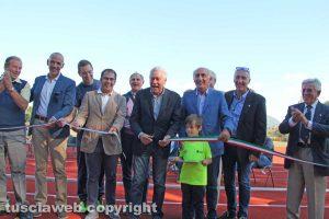 Viterbo - Inaugurazione del campo scuola a Santa Barbara