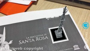 Macchina di santa Rosa - Gloria in 3D con un'app