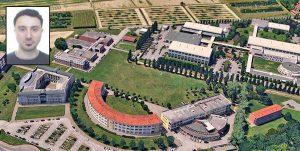 Università di Padova - Nel riquadro il ricercatore Manuele Faccenda