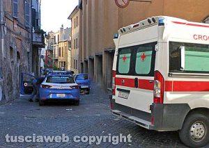 Viterbo - Polizia e 118