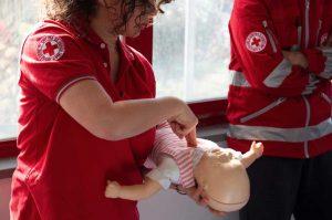 Croce rossa italiana - Corso di manovre salva vita in età pediatrica