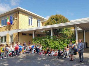 Bagnoregio - La visita nelle scuole
