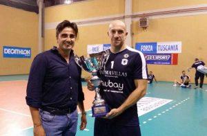 Tuscania Volley - Primo trofeo PM&B