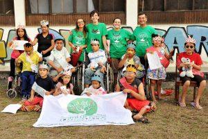 I volontari di Semi di pace in una passata missione