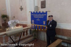 Lubriano - La cerimonia in onore di Giandomenico Pistonami