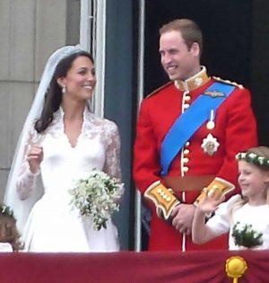 Londra - I duchi di Cambridge