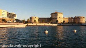 Civitavecchia - Il porto e forte Michelangelo