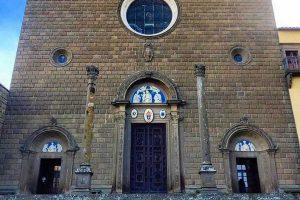 Viterbo - La basilica di Santa Maria della Quercia