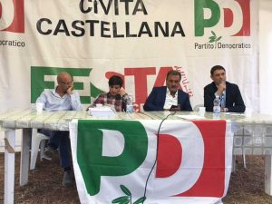 Civita Castellana - L'intervento di Mazzoli alla festa dell'unità