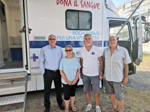 Tarquinia - I consiglieri e il presidente dell'Avis