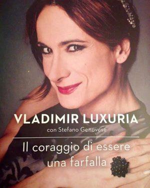 La copertina del libro di Vladimir Luxuria