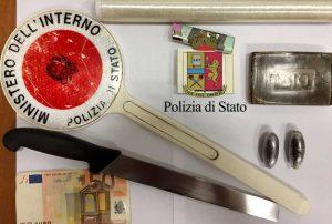 Napoli - Polizia - Il materiale sequestrato