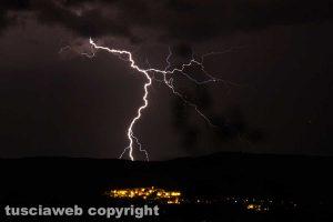 Maltempo - Un temporale