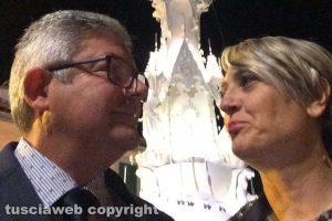 Viterbo - Franco Barillà e Cinzia Benenati