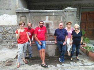 La fontana di Sant'Angelo restaurata