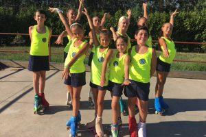 Sport - I giovani atleti del Tuscia skating club