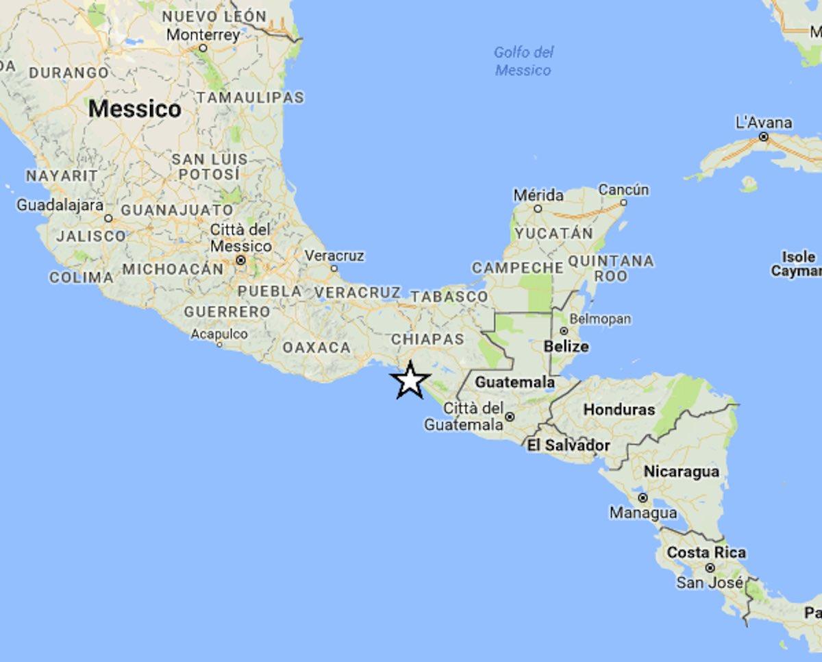 Messico: terremoto di 8.1 gradi Richter, allarme tsunami