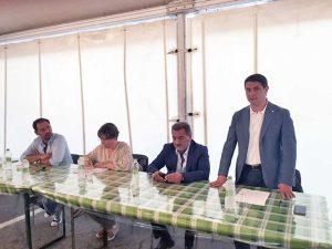 Quinto Mazzoni, Alessandra Terrosi, Enrico Panunzi e Alessandro Mazzoli