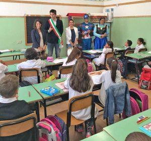Tarquinia - Saluto scuole