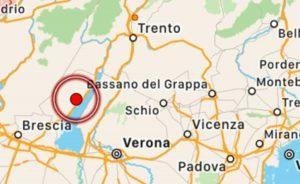 Brescia - Terremoto sul lago di Garda