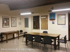 La sala consiliare dell'Università Agraria di Vasanello