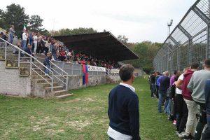 Sport - Calcio - La tribuna del Madami di Civita Castellana