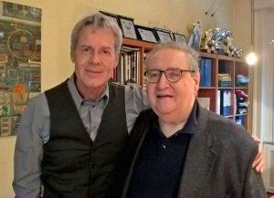 Claudio Baglioni e Vincenzo Mollica
