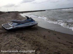 Tarquinia – Le ricerche dell'uomo disperso in mare