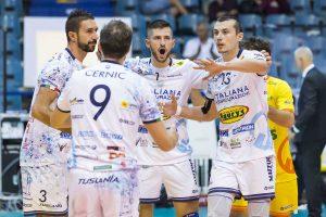 Sport - Pallavolo - Il Tuscania volley in azione