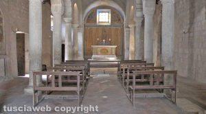La chiesa di Santa Maria dei lumi