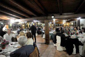Viterbo - La serata organizzata da Giovanni Arena all'agriturismo Monteparadiso