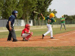 Sport - Montefiascone baseball - Un'azione di gioco