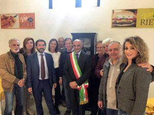 Caprarola dona servizio di ceramiche all'istituto alberghiero di Amatrice