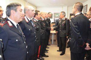 Cronaca - Il generale Andrea Rispoli in visita a Ronciglione e Sutri