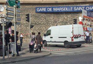 Marsiglia - La stazione di Saint-Charles