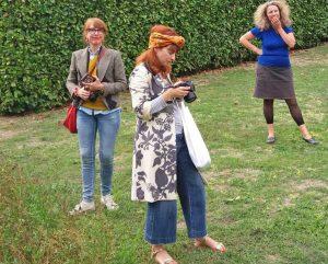 Blogger in visita nei giardini della Tuscia